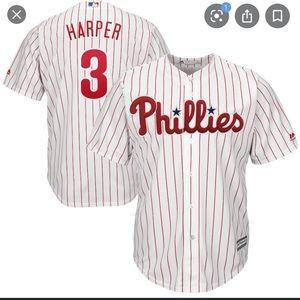 Majestic Bryce Harper Phillies Jersey
